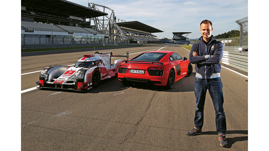 Audi R8 V10 Plus, Christian Gebhardt