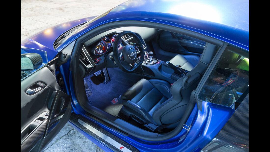 Audi R8 V10 Plus, Cockpit, Lenkrad