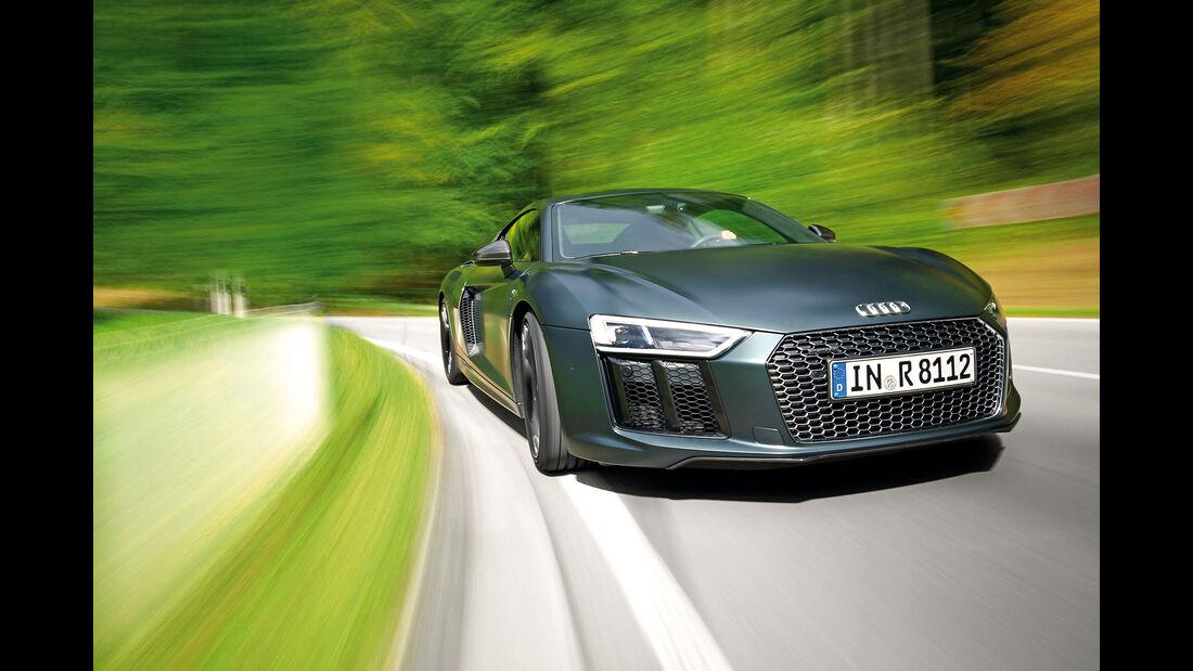 Audi R8 V10 Plus Coupé, Frontansicht