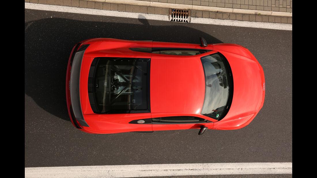 Audi R8 V10 Plus, Draufsicht