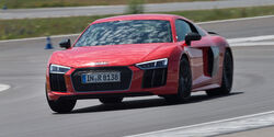 Audi R8 V10 Plus, Front