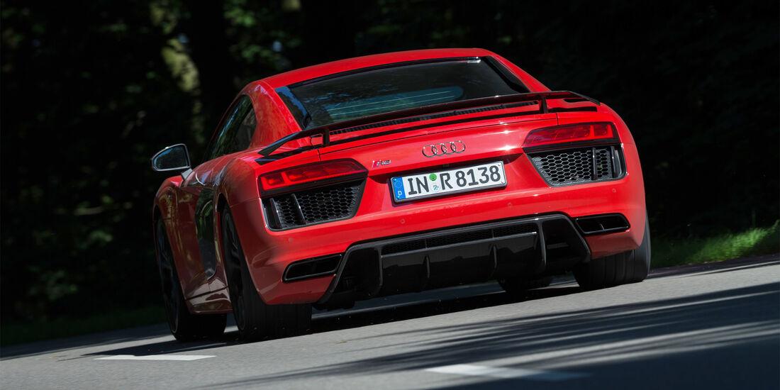 Audi R8 V10 Plus, Heck