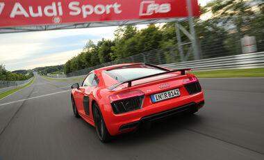 Audi R8 V10 Plus, Heckansicht