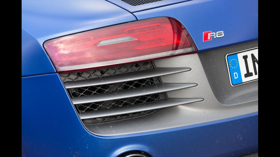 Audi R8 V10 Plus, Heckleuchte