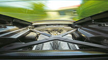 Audi R8 V10 Plus, Heckscheibe