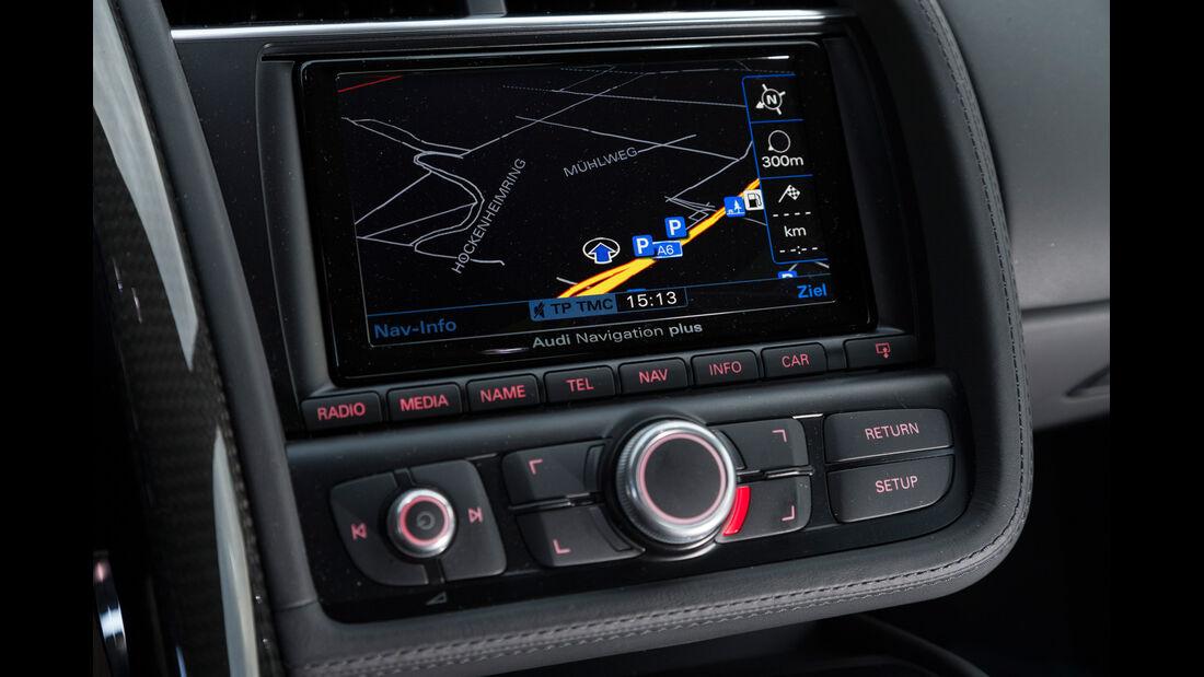 Audi R8 V10 Plus, Monitor, Navi