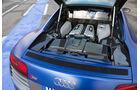 Audi R8 V10 Plus, Motorraum