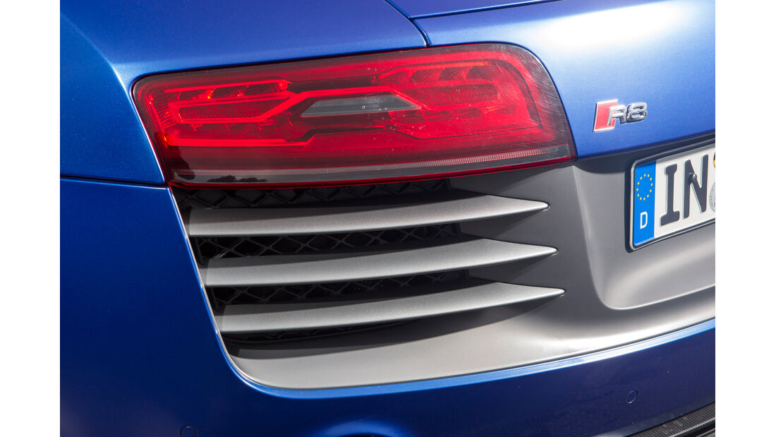 Audi R8 V10 Plus, Rücklicht