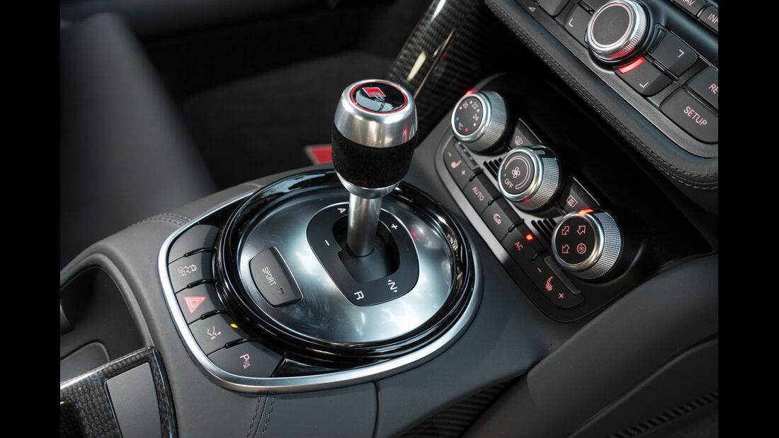 Audi R8 V10 Plus, Schalthebel, Schalknauf