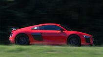 Audi R8 V10 Plus, Seite