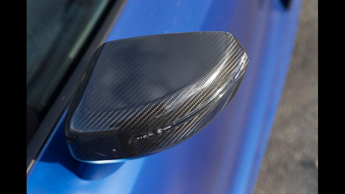 Audi R8 V10 Plus, Seitenspiegel