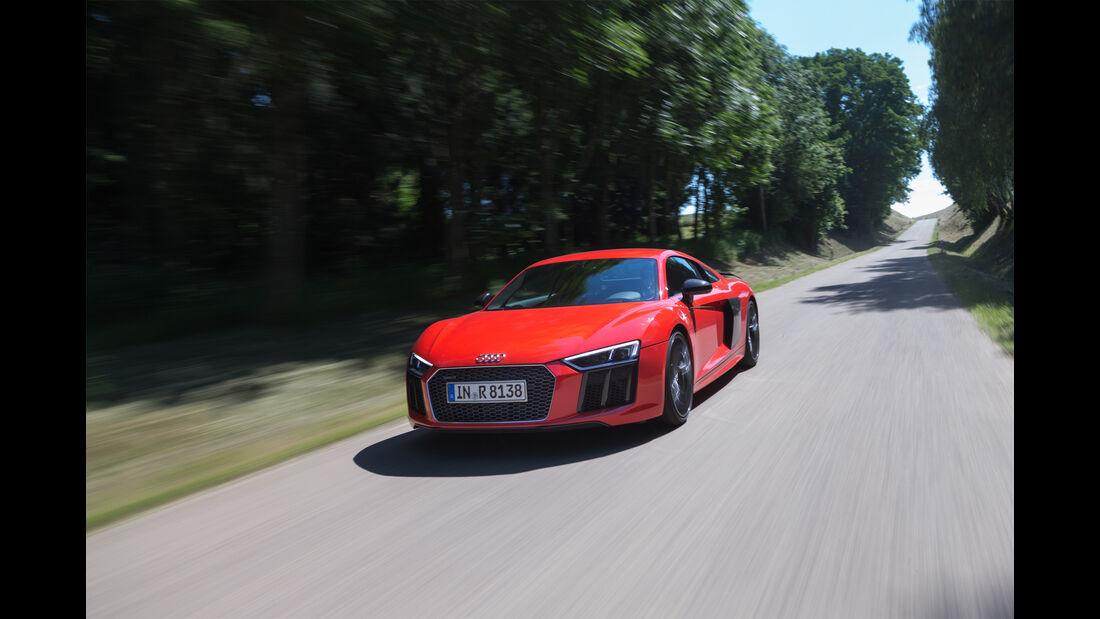 Audi R8 V10 Plus, Totale