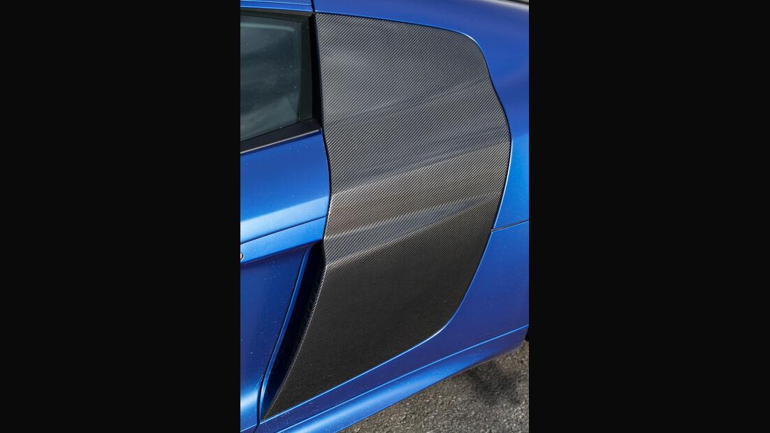 Audi R8 V10 Plus, Windschürze