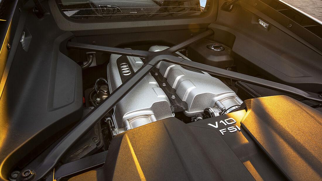 Audi R8 V10 RWD, Motor