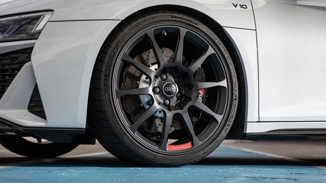 Audi R8 V10 RWD, Rad
