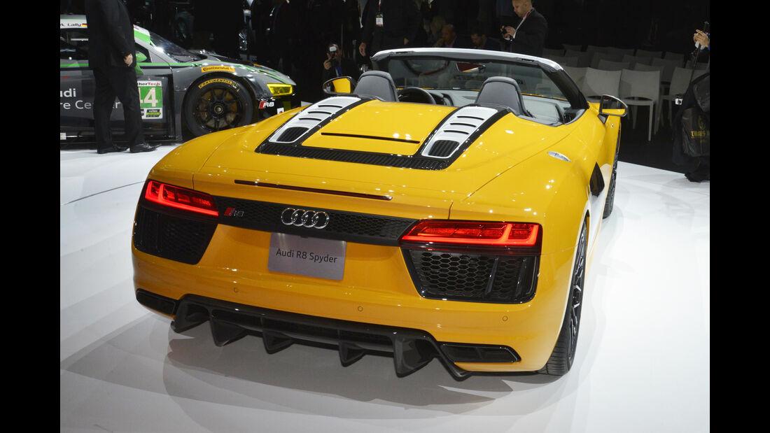 Audi R8 V10 Spyder, Heck