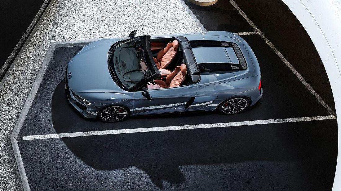Audi R8 V10 performance RWD Spyder