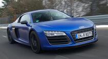 Audi R8 V10 plus 5.2 FSI, Frontansicht, Kühlergrill
