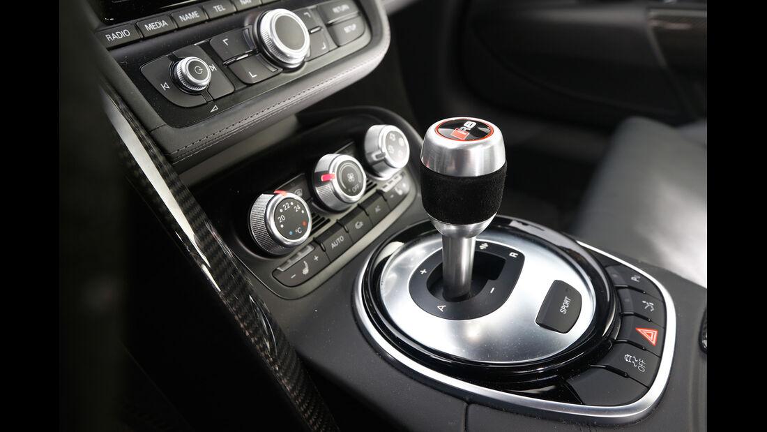 Audi R8 V10 plus 5.2 FSI, Schalthebel, Schaltknauf