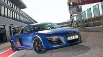 Audi R8 V10 plus, Frontansicht
