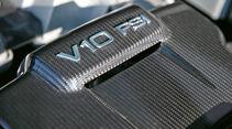Audi R8 V10 plus, Motorenbeschriftung
