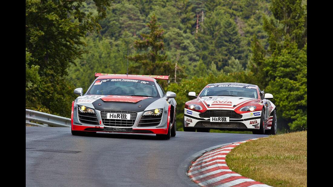 Audi R8 - VLN Nürburgring - 5. Lauf - 5. Juli 2014