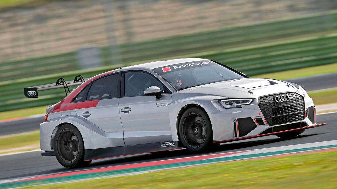 Audi RS 3 LMS, Exterieur