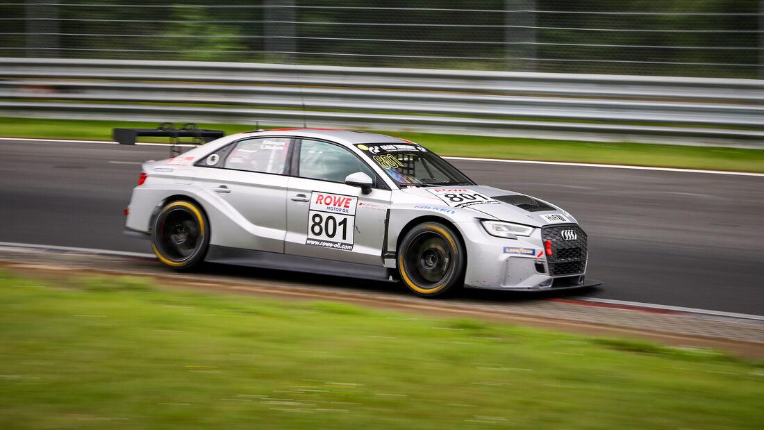 Audi RS 3 LMS - Startnummer #801 - MSC Sinzig - TCR Am - NLS 2021 - Langstreckenmeisterschaft - Nürburgring - Nordschleife