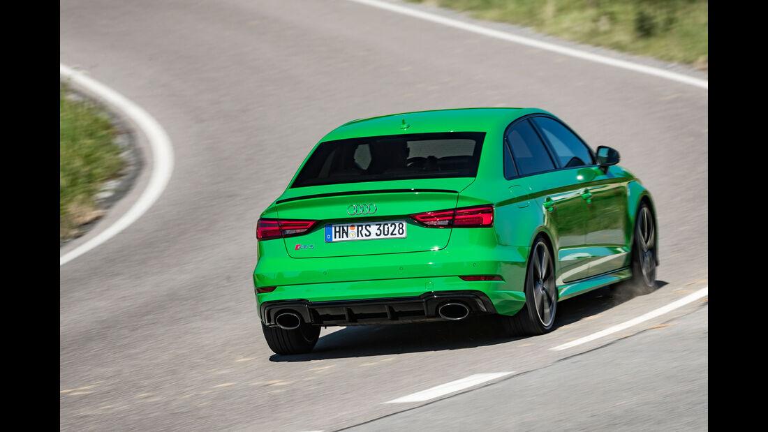 Audi RS 3 - Limousine - Fünfzylinder-Turbo - Test