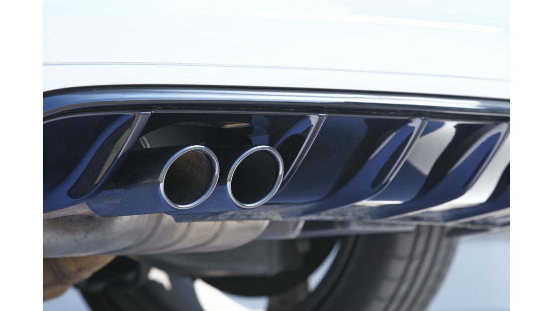 Audi RS 3 Sportback, Auspuff, Auspuffanlage