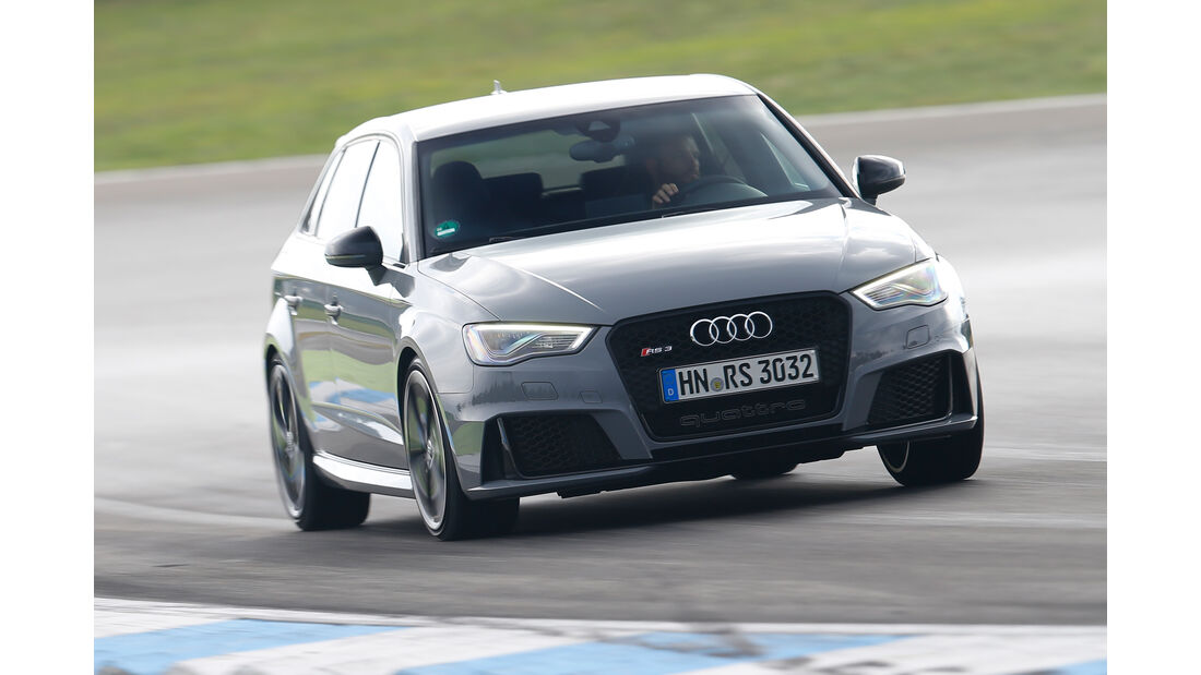 Audi RS 3 Sportback, Frontansicht