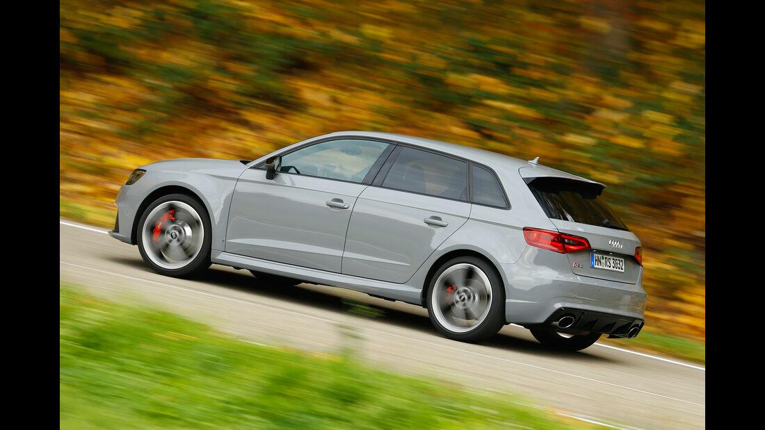 Audi RS 3 Sportback, Heckansicht