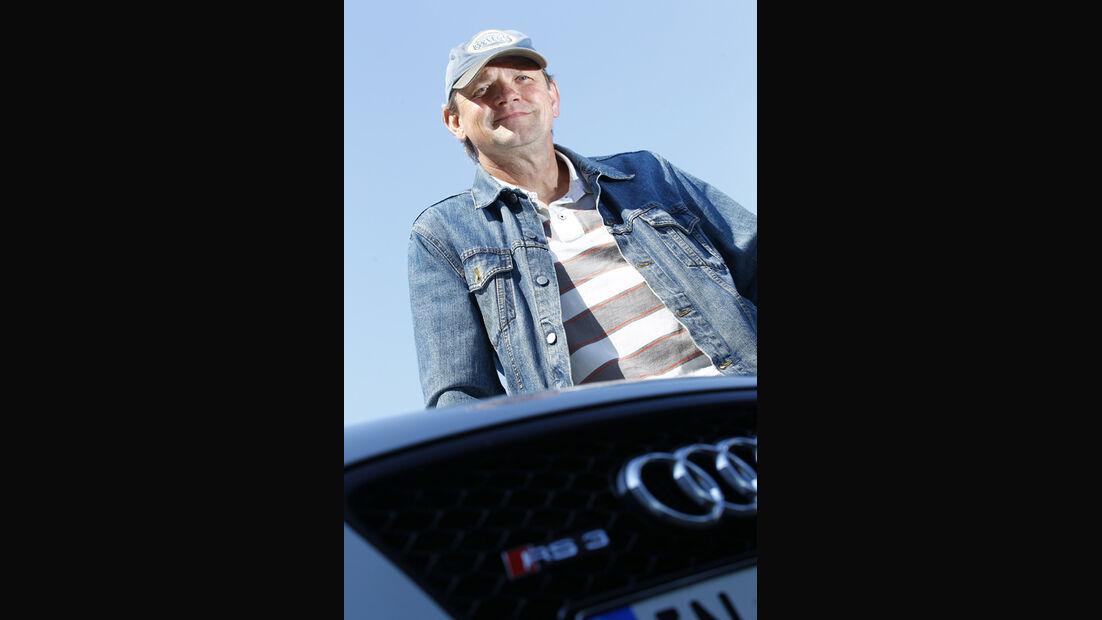 Audi RS 3 Sportback, Horst von Saurma, Porträt