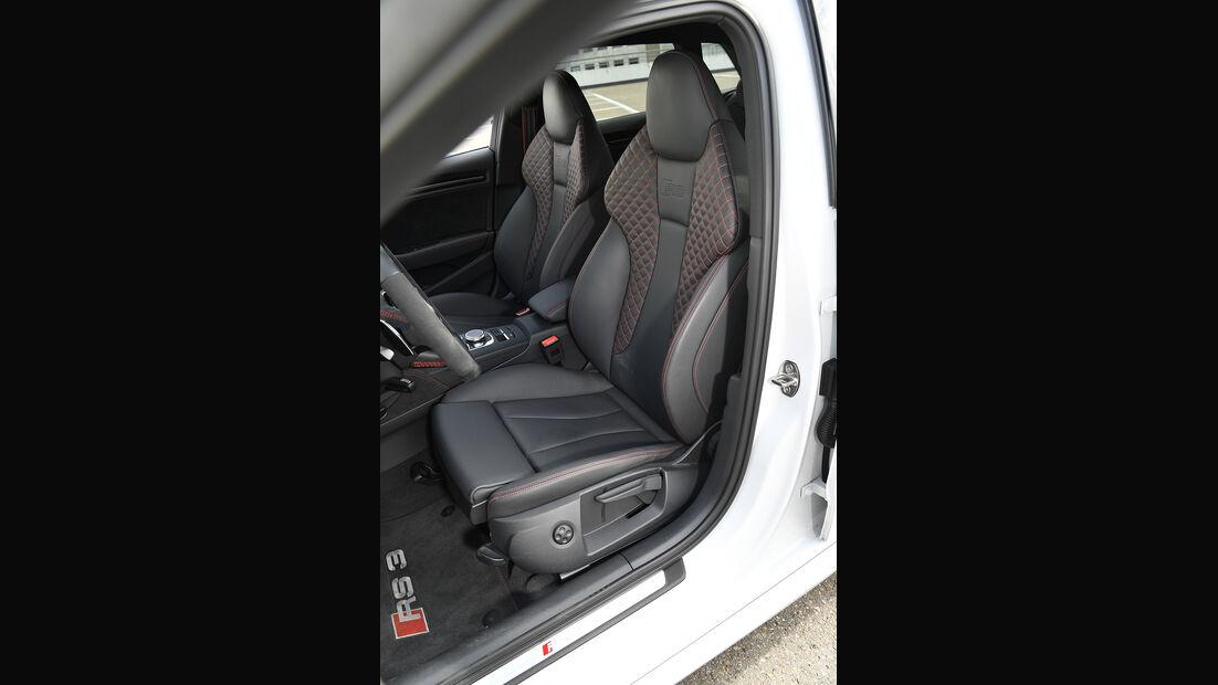 Audi RS 3 Sportback, Interieur