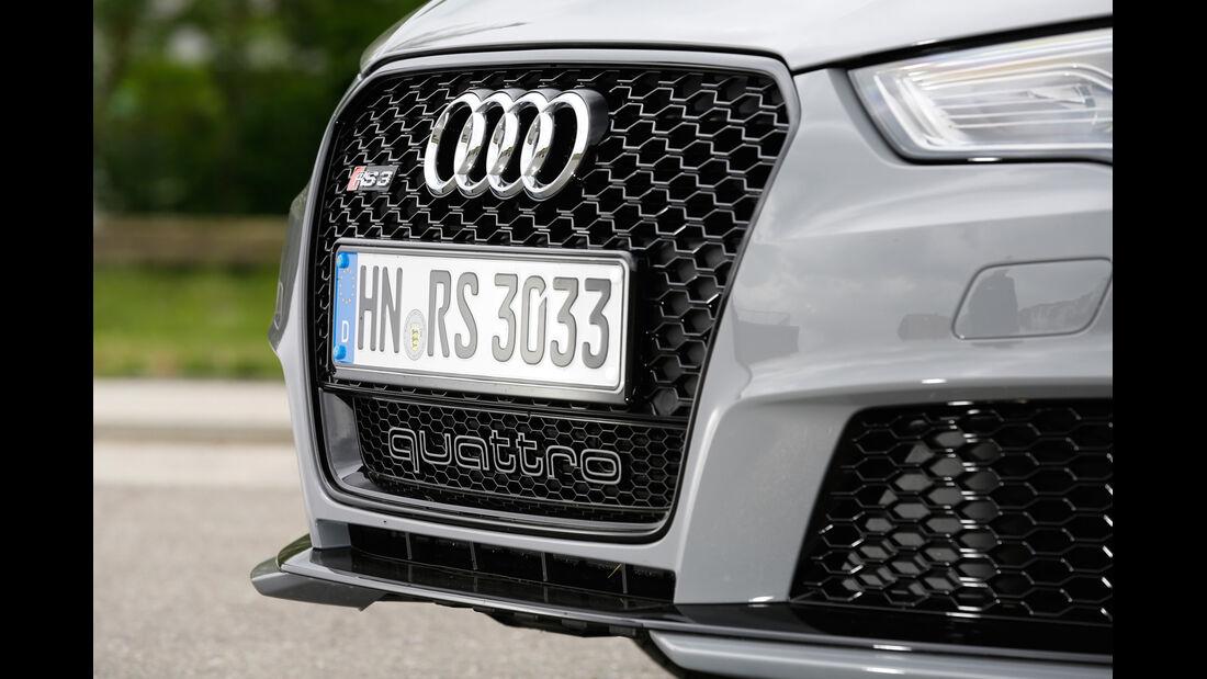 Audi RS 3 Sportback, Kühlergrill