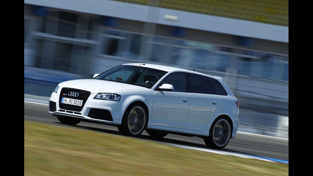 Audi RS 3 Sportback, Seitenansicht, Bremen, Bremscheck