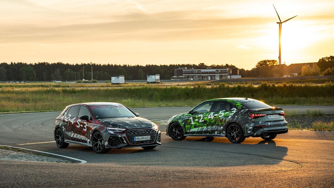 Audi RS 3 Sportback und Audi RS 3 Limousine