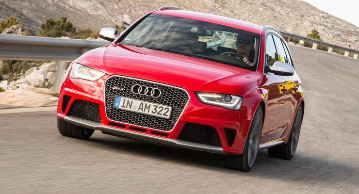 Audi RS 4  Avant, Frontansicht