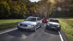 Audi RS 4 (B5), Audi RS 4 (B7), Audi RS 4 (B8), Exterieur