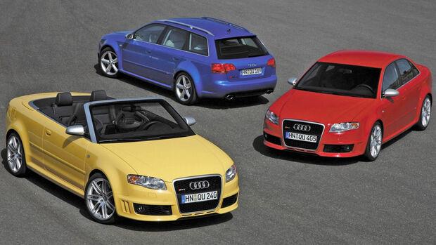 Audi RS 4 B7 Kaufberatung, Gebrauchte Sportwagen, Supertest-Helden
