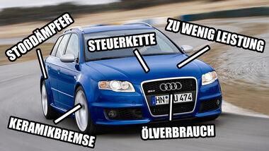 Audi RS 4 B7 Kaufberatung, Gebrauchte Supertest-Helden