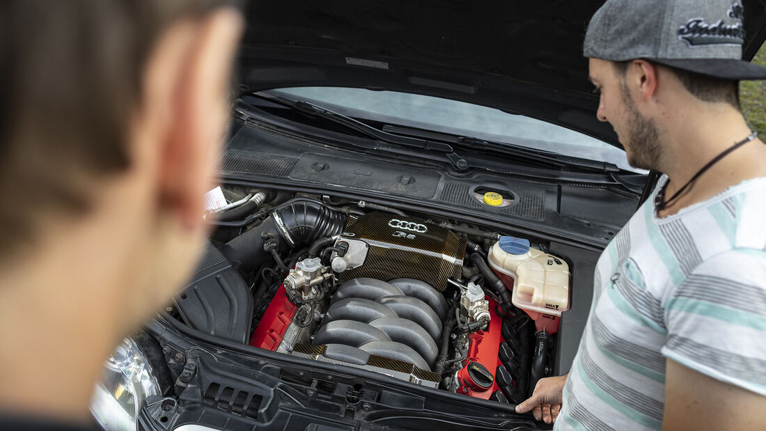 Audi RS 4 (B7), Motor