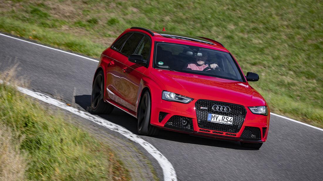 Audi RS 4 (B8), Exterieur