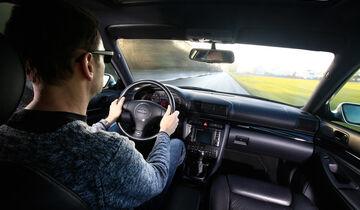 Audi RS 4, Cockpit, Fahrersicht