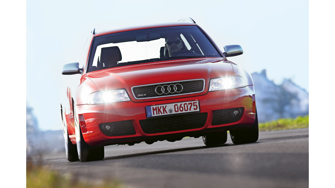 Audi RS 4, Frontansicht