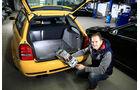 Audi RS 4, Kofferraum