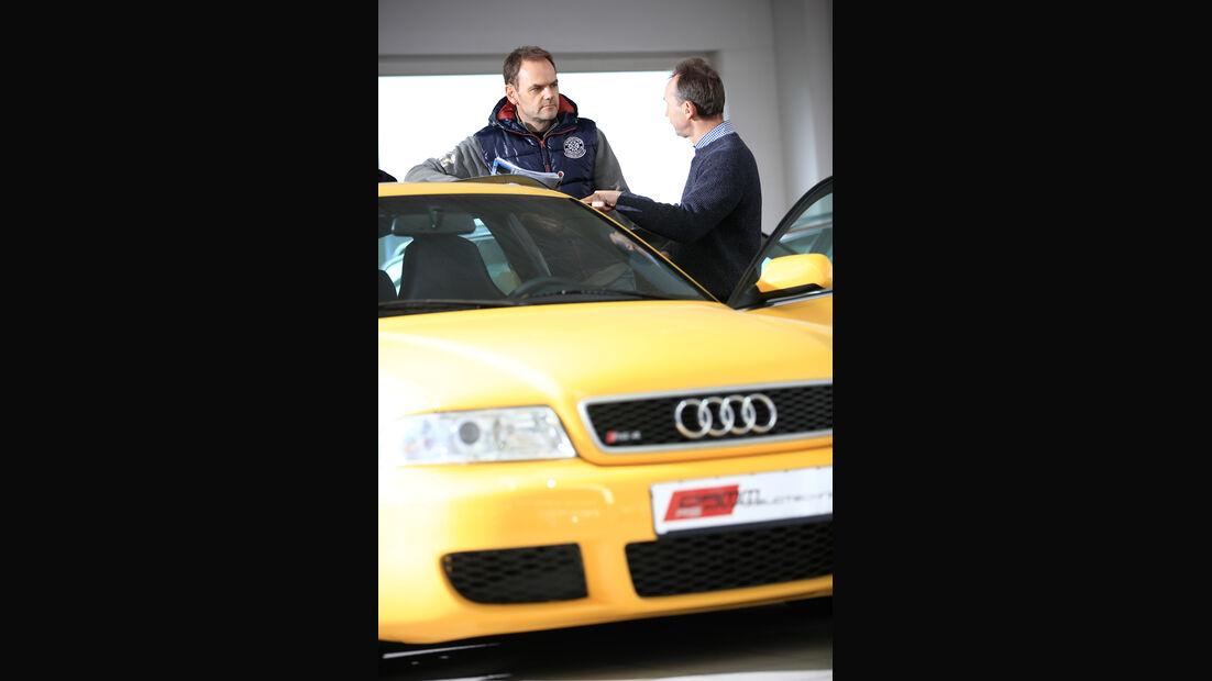 Audi RS 4, Kühlergrill
