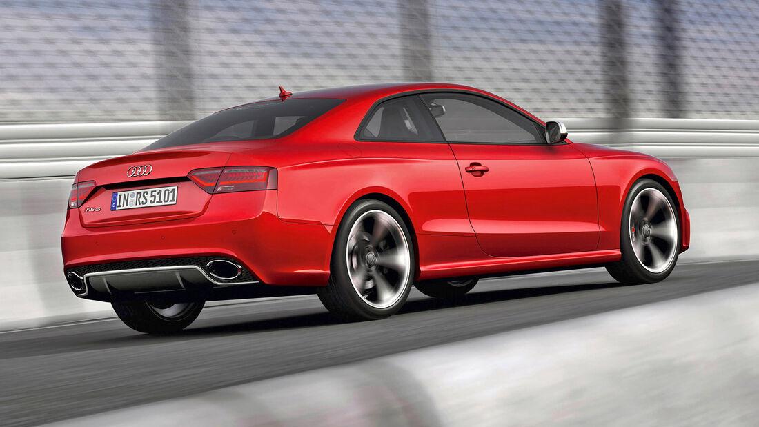 Audi RS 4/RS 5, Exterieur