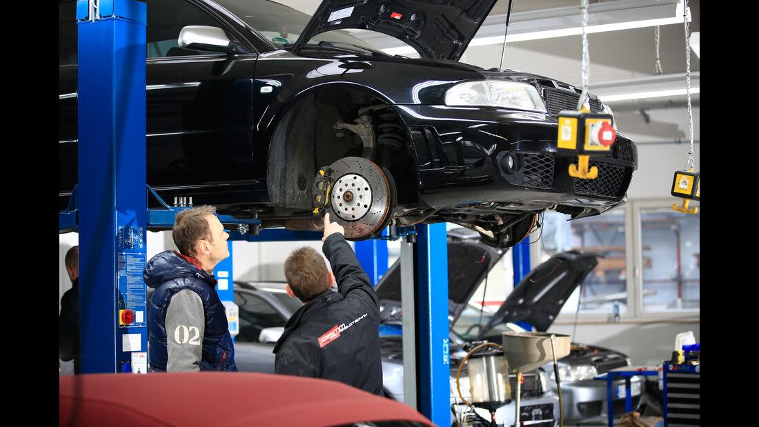 Audi RS 4, Unterboden