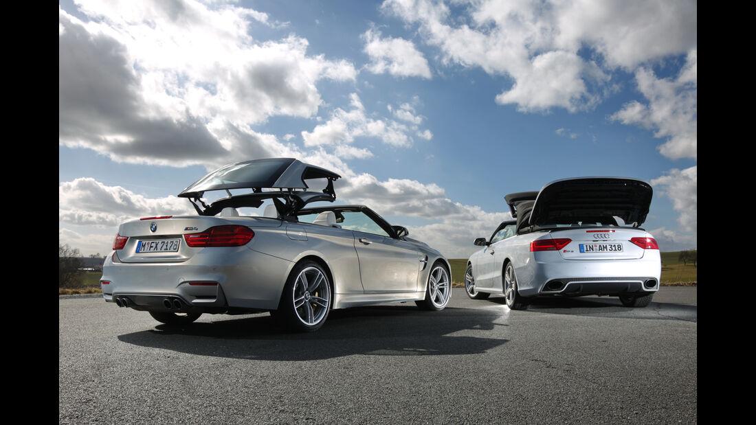 Audi RS 5 Cabriolet, BMW M4 Cabrio,
